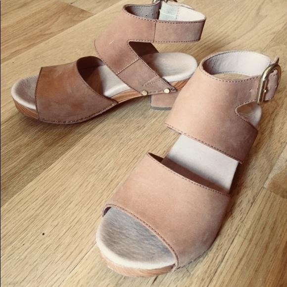 45d564db862 Dansko Shoes - Dansko Minka nubuck sandal in Camel